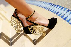 Charlotte Olympia shoes photographed by Tommy Ton for Symphony (The Dubai Mall),  Spring/Summer 2012 #campaign