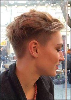 19 Unterschnitt Pixie Schnitte für Badass Frauen // #Badass ... | Einfache Frisuren