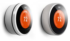 Nest vs. new Nest 2.0. Gorgeous thermostat from the inventors of the original iPod. I'd totally rock one and show it off in a central location at home. $249