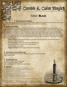 ☆ Candle Magic: Black ☆