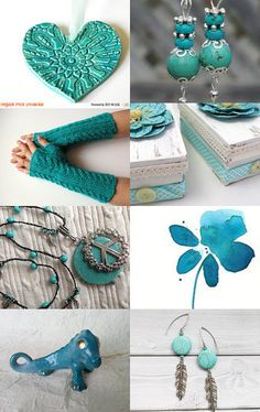Tell Me With Turquoise by Beth on Etsy--Pinned with TreasuryPin.com