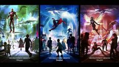 Avengers and Other Super Heroes to Assemble at Disney Parks Around the World #Marvel