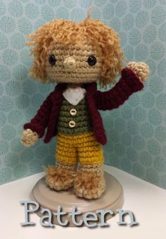 Bilbo Baggins Crochet Amigurumi Pattern