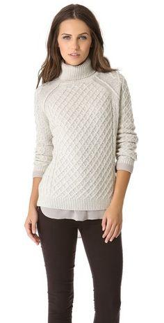 Vince Cable Turtleneck Sweater   SHOPBOP