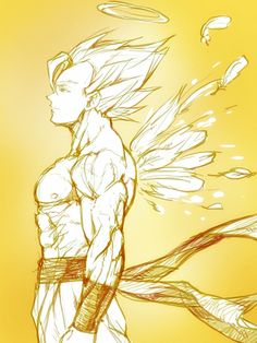 goku super saiyan angel.