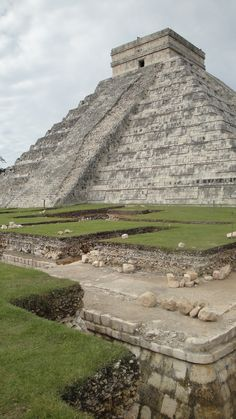 Chitzen Itza, Mexico. View from top is worth the descent on your bum on the narrow crumbling steps.