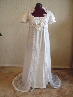 Regency gown Pelisse
