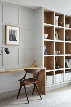 Office Interior Design Ideas Hidden Doors is no question important for your home. Whether you pick the Business Office Decorating Ideas or Office Decor Professional Interior Design, you will create the best Home Office Design Modern for your own life. Mesa Home Office, Home Office Space, Home Office Desks, Office Decor, Office Ideas, Office Workspace, Office Designs, Small Office Spaces, Design Offices
