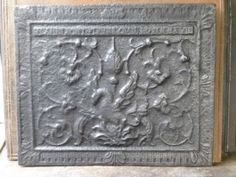 "Phoenix With the text: ""Flames sont des fleurs ou il representative ma vie"" (Flames are flowers that bring me back to life). Cast in the Saint-Claire foundry in Villerupt, Lorraine."