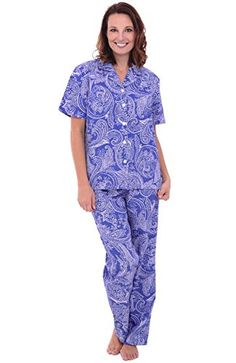 Del Rossa Women s Cotton Pajamas c4f9fe07613d