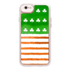 iPhone 7 Plus/7/6 Plus/6/5/5s/5c Case - Irish (5760 ALL) ❤ liked on Polyvore featuring accessories, tech accessories, iphone case, glitter iphone case, transparent iphone case, transparent smartphone, iphone cases and iphone cover case