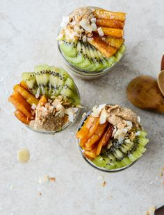 Toasted Coconut Overnight Oats.