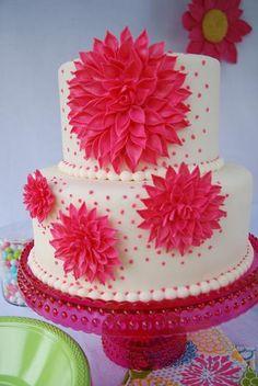 Hostess with the Mostess® - A Garden Party... Cake!