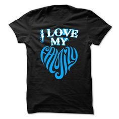I Love My Family T-Shirt Hoodie Sweatshirts oeu. Check price ==► http://graphictshirts.xyz/?p=49251