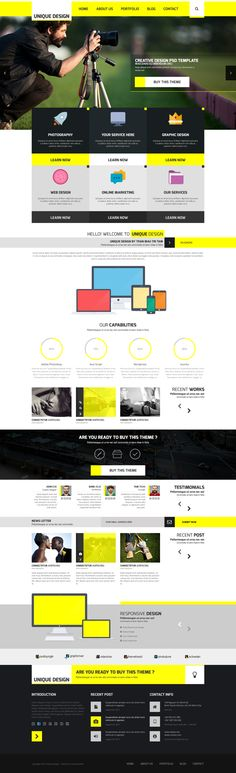 Kazada (Unique) – Multipurpose PSD Templates on Web Design Served