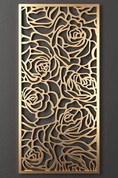 Jalli Design, Grill Design, Door Design, Art Deco Design, Gate Design, Metal Art Decor, Cnc Cutting Design, Laser Cut Panels, Stencil Painting On Walls