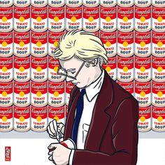 Tag 2 · Andy Warhol unterschreibt