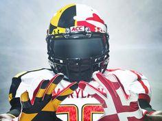 university of maryland football uniforms. Indiana Football, Flag Football, Football Helmets, Maryland Colleges, University Of Maryland, College Football Uniforms, Best Memories, Under Armour, Baltimore Ravens