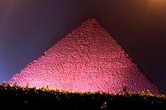 pink pyramid of Giza