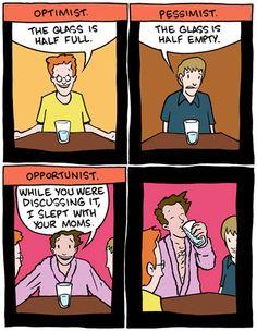 optimist vs pessimist vs opportunist 4824