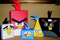 Angry Birds.  This is for my son in law Reese!  Happy Birthday to you