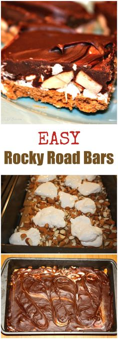 Chocolate-Dipped Rocky Road Ice Cream Bars | Recipe | Rocky Road ...