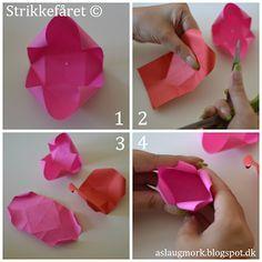 Helt tilbage i maj måned var jeg inviteret til en rund fødse Paper Crafting, Paper Flowers, Origami, Gifts, Handmade, Diy, Design Design, Hacks, Dessert