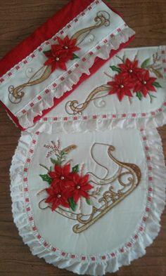 MANUALIDADES Hand Embroidery Stitches, Akira, Sewing Hacks, Ideas Para, Diy And Crafts, Christmas, Silk Ribbon Embroidery, Kitchen Playsets, Farmhouse Rugs