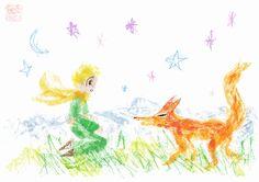 """""""Le Petit Prince"""" d'Antoine de Saint-Exupéry  어린 왕자 - 星の王子さま - 小王子"""