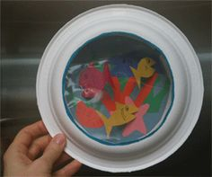 Paper plate crafts for the kids