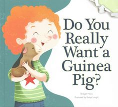 A mischievous guinea pig (and the narrator) teach a young boy the responsibility--and the joys--of caring for a pet guinea pig. Includes 'Is this pet right for me?' quiz--