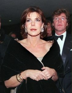 Princess Caroline of Monaco with her third husband, Prince Ernst August of Hanover.