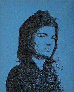 Andy Warhol: Jackie Kennedy, 1964.