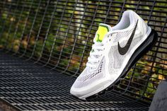 Nike presents a dashing new white, black and platinum colorway for the Air Max 2014. Delivering ulti...