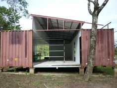 shipping container home...so many possibilities!!!!