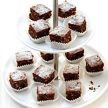 fr.WeightWatchers.be: recette Weight Watchers - Brownies aux noisettes
