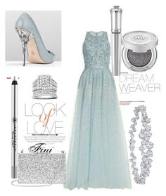 """A Dream Weaver"" by fini-i ❤ liked on Polyvore featuring RALPH & RUSSO, Vince, Aspinal of London, Anastasia Beverly Hills, Kobelli, Harry Winston and Morgan Lane"