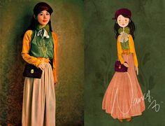 Nancy Zhang - American Apparel Skirt, Topshop Bag - Velvet and Clover.