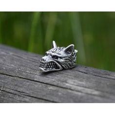 Wisiorek Wilk Rings For Men, Silver Rings, Jewelry, Men Rings, Jewlery, Bijoux, Schmuck, Jewerly, Jewels