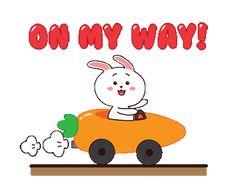 Human Emotions, Line Sticker, Cute Gif, Mocha, Grey And White, Gifs, Bunny, Snoopy, Kawaii