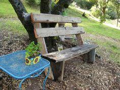 How to Build Simple Garden Benches for Free :: Hometalk