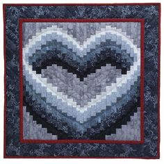 Open Heart Quilt Pattern by Rachels of Greenfield at KayeWood.com