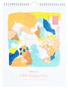 Color Composition 2014 Calendar