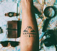 Explore tattoo