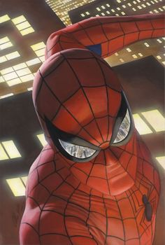 Spider-Man by Alex Ross *