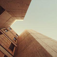 Salk Institute for Biological Studies. La Jolla, California. 1959. Louis Kahn. Photo Jarede