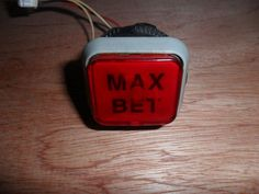 Pachislo Max Bet Button, Cable Originally from 4 ReelHanabi
