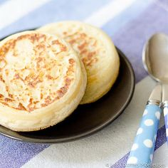 Open in Chrome for translated recipe | Les crumpets | Les Cocottes Moelleuses