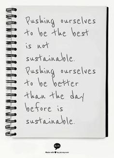 Choose sustainability!