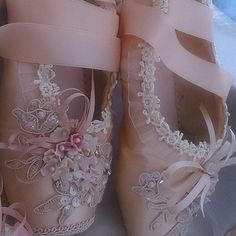 ballerina pink pointe shoes on Instagram